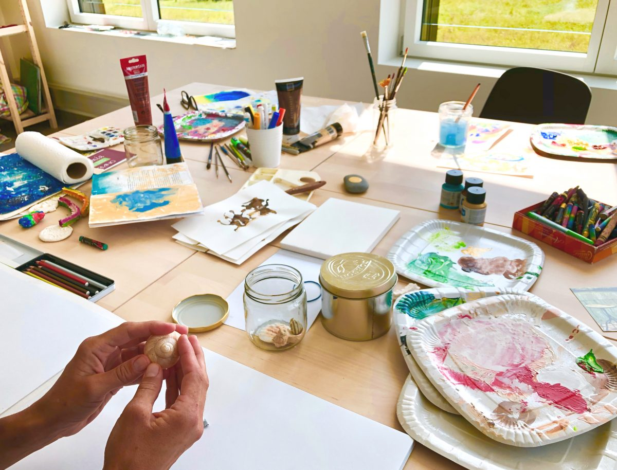 Atelier Art-therapie Espace Sante Rennaz